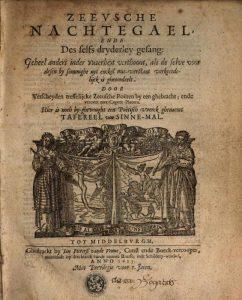 Zeeusche Nachtegael 1623